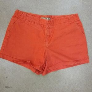 Cute coral JCrew shorts